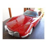 Toyota 2000gt 1960s Made By Ichiko. Tin Toy Super Rare Vintage Retro From Japan