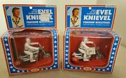 Vintage 1976 Ideal Evel Knievel Stunt Cycle Precision Miniature
