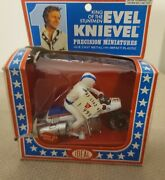 Vintage 1976 Ideal Evel Knievel Super Jet Cycle Precision Miniature