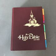 Holy Bible Kjv Giant Print Red Letter Edition 1975 Allan Publishers -indexed