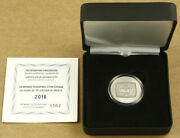 Greece 6 Euro 2016 Silver Proof 50 Years Of Television In Greece
