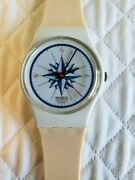 Vintage Swatch Watch 1984 Windrose Lw103 Ladies
