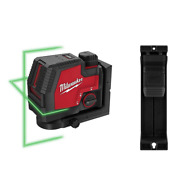 100 Ft. Redlithium Lithium-ion Usb Green Rechargeable Cross Line Laser Level Wit
