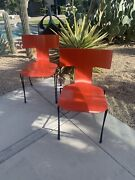 Anziano Dining Chairs By John Hutton For Donghia. Set Of 2