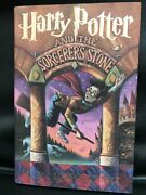 Signed Harry Potter And The Sorcererand039s Stone J.k. Rowling 1st Edition Dj Unread