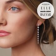 Earring Shoulder Duster 14kyellow White Rose Gold Featured In Elle Harpers 2 Szs
