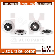 Front And Brembo Rear Oe Equivalent Brake Rotors For 2011 Mercedes-benz Sl65 Amg