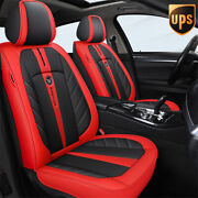Car Pu Leather Four Seasons Universal 5 Seats Surrounded Seat Protector Covers