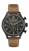 Nautica Bfd 101 Chronograph Brown Watch A16599g
