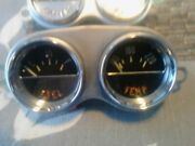 1959-1962 Corvette C1 Guages Restored Fuel And Temp Guage Battery And Oil Guage