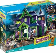 Playmobil Scooby-doo Adventure In The Mystery Mansion 70361 Playset 117 Pc New