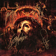Slayer Repentless Fully Signed 12 Tom Araya +3 Reign In Blood Autograph Signed