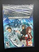 Eureka Seven Vol. 1 The New Wave Sony Playstation 2 2006 Factory Sealed