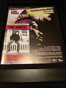 Paul Rodgers Electric Ladyland Rare Original Radio Promo Poster Ad Framed