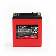 Motorcycle Battery Lithium 12v 84wh 260a Replace Hjtz7s-fp 125cc 50cc Lifepo4