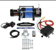 Anvil 17011aor 17000 Pound Winch System, Synthetic Rope Aluminum Fairlead