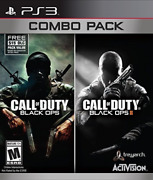 Ps3 Action-call Of Dutyblack Ops 1 And 2 Combo Pack Ps3 New