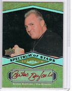 2009 Spectrum Of Stars Brutus The Barber Beefcake Red Ink Autograph Auto