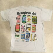 Vtg. Becks Rolling Rock Olde English Budwieser Tecate Dixie Fosters Beer T-shirt