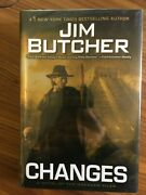 Changes By Jim Butcher, 2010, Hardcover, 1st Edition, 1st Print
