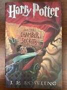 Signed Harry Potter And The Chamber Of Secrets Rowling 1st/1st Rare Typo Unread