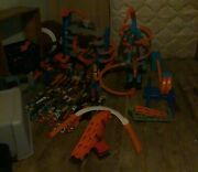 Hot Wheels Lot.some Are Hot Wheels Id. Mattel. 100+ Cars 12 Play Sets. Lot