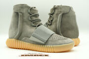Adidas Yeezy Boost 750 New Size 9 Light Grey Glow In The Dark Bb1840