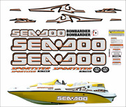 Seadoo Sportster 2003 Graphics / Decal Replacement Kit