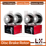 Front And Rear Brembo Coated Oe Brake Rotors Set For 2003-2010 Porsche Cayenne