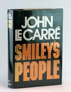John Le Carre Signed W/real Name Us 1st Ed Smileyand039s People Karla Trilogy Hc W/dj