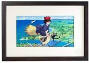 Studio Ghibli Witchand039s Delivery 30th Cel Art Print W555mm H390mm D20mm Rare
