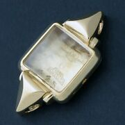 1948 Rolex 4454 Lady's Solid 18k Yellow Gold Case And Crystal, Xlnt Condition