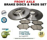 Front Axle Brake Discs And Brake Pads Set For Bmw 3 Convertible M3 3.2 2001-2007