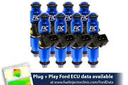 1200cc Fic Fuel Injector Clinic Injector Set For Ford F150 04-16 Lightning 99-04