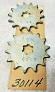 Nos/ New -wsa Cs_67 Hardened Steel 14 Tooth Counter Sprocket For Yz, It And Kz
