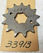 Nos/ New -wsa Cs_35 Hardened Steel 13 Tooth Counter Sprocket, Same As Ss 33913