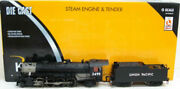 K-line K3690-2499cc Union Pacific Mikado And Tender W/railsounds And Tmcc Ln/box
