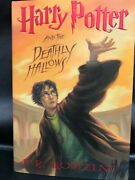 Harry Potter And The Deathly Hallows 1st Edition 1st Printing Hc/dj Unread