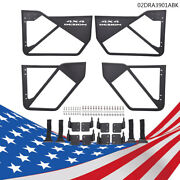 Iron Tube Door Car Accessories Laches 4pcs Fit For 07-18 Jeep Wrangler Jk 4 Dr