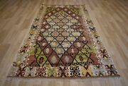Clearance Masterpiece Early 20th Century Antique Collectorand039s Anatolian Kilim 5x9