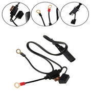 12v Motorcycle Battery Charger Cable Terminal To Sae Quick Disconnect Plug