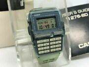 Auth Casio Disney Store Limited Mickey Mouse Data Bank Wristwatch Dbc-63 Blue