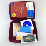 Niv Life Application Study Bible Red Letter Leather Burgundy Set With Case -9