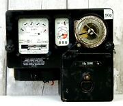 Vintage Smith Ltd Electricity Meter Prepayment Coin Operated Industrial Electric