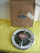 Ford Nos 1965 Galaxie 500 Xl Wheel Cover 15 Oem 65 One Only
