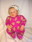 Reborn Doll Real Looking Realistic Baby Preemie Soft Body Silicone Weighted 17