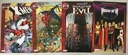 Wandavision 4x House Of M Tpb Oop Out Of Print Masters Of Evil Spider-man X-men
