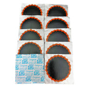10 Rema Tip Top No. 2 Round Patches - Flat Tire Tube Puncture Repair Kit Refill