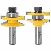 Ogee Rail And Stile Router Bits 1/2 Inch Shank Set For Cabinet Door More 7/16