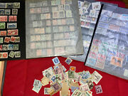 700 Approx Vintage World Stamp Collection - 19th And 20th Century - Some Rare